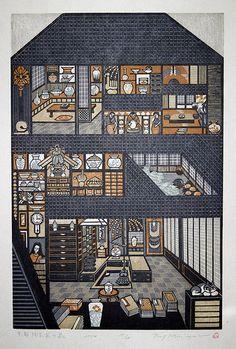 Ray Morimura  2004   Ceramist House in Kyoto