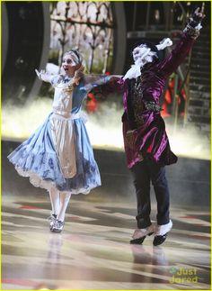 "Dancing With the Stars  -  Mark Ballas & Willow Shields danced a foxtrot to  Foxtrot ""Alice's Theme"" from Disney's ""Alice in Wonderland""  -  Season 20  -  week-4  Disney Night  -  spring 2015  -  score - 8+8+9+9 =34"