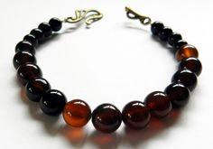 Beautiful Bracelet-Agate Stone Beads by rosaliascharm on Etsy