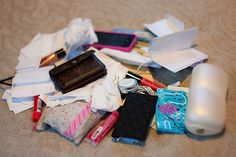 How to Organize Your Bag - Assess, Sort, Systemize
