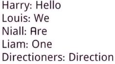 They left out the YAYYY <<< I miss Zayn saying that