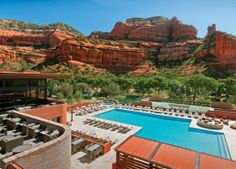 Top 10 Resort & Spa in the World - Enchantment resort Sedona resort & spa -Arizona