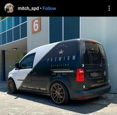 Caddy Van, Mini Vans, Van Signwriting, Vw Caddy Tuning, Van Signage, Vehicle Signage, Volkswagen Caddy, Vans Logo, Cars