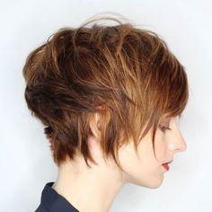 Gotta love a cute razor cut ❤. Wispy soft sexy short hair feels really fun right now. . .#hairbyme for @madisonav3nue . .#nothingbutpixies #shorthair #modernsalon #americansalon #behindthechair #pixiecut #razor #shorthairstyles #hair #hairbrained #hairdresser #bangstyle #avedacolor #avedaartist @avedaartists