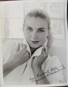 Joanne Woodward Signed 8X10 B/W Glossy Photo