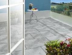 Gardenplaza - Ultradünne Beton-Platten bieten grenzenlose Gestaltungsfreiheit - Attraktiver Bodenbelag für Balkon und Terrasse