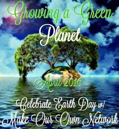 Growing a Green Planet Giveaway - ends April 15! http://monicasrrr.blogspot.com/2016/03/growing-green-planet-giveaway-ends.html