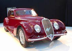 Alfa Romeo 6C 2500 Sport Berlinetta, bought by Mussolini for his mistress