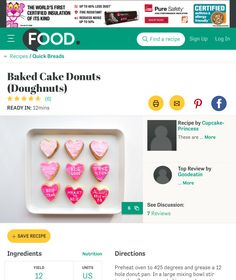 http://www.food.com/recipe/baked-cake-donuts-doughnuts-431598