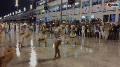 Ivete Sangalo dá show na comissão de frente da Grande Rio