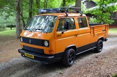Up for auction is a 1984 Volkswagen Double Cab Transporter. This Doka started life in Europe but was brought over by a previous owner to roam the roads of the Southeast. The Doka has recently Volkswagen Bus, Vw Bus T3, Vw T1, Vw Camper, Transporter T3, Volkswagen Transporter, Vw Modelle, Vw Syncro, Cool Campers