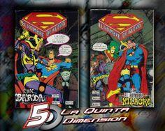 SUPERMAN # 38 Y 39.  EN ESPAÑOL, DE EDITORIAL VID. HISTORIA COMPLETA EN 2 TOMOS. DE JOHN BYRNE. $ 80.00 Para más información, contáctanos en http://www.facebook.com/la5aDimension