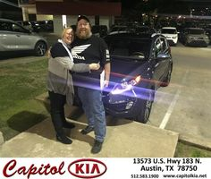 https://flic.kr/p/CoSQro | Happy Anniversary to Michelle on your #Kia #Sportage from Ashley Chavarria at Capitol Kia! | deliverymaxx.com/DealerReviews.aspx?DealerCode=RXQC