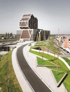 Gerechtsgebouw Hasselt officieel geopend in het bijzijn van architect Jürgen Mayer / A2O ARCHITECTEN, LENS ASS ARCHITECTEN en REGIE DER GEBOUWEN  / *Foto's: Marc Scheepers en Philippe Van Gelooven