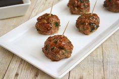 Baked Quinoa Meatballs.