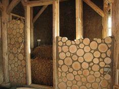 hacete una casa con pedazos de trancos
