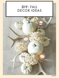 DIY: Fall Decor Ideas