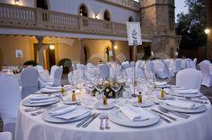 Montaje de mesa en una #boda   Goyo Catering 2012.