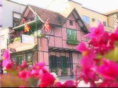 Cidade de Blumenau no vale europeu em Santa Catarina