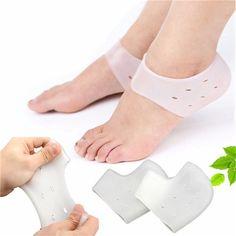 1 par Squishy Soft Silicona Tacón hidratante calcetines Pies Cuidado de la piel Anti Crack Control Foot Protector