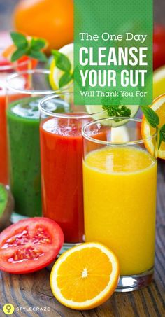 The One Day Cleanse Your Gut Will Thank You For When you plan a detox, two things are always discouraging – the amount of time it takes for . Week Detox Diet, Detox Cleanse For Weight Loss, Detox Diet Plan, Detox Foods, Two Day Detox Cleanse, Detox Cleanse For Bloating, Natural Detox Cleanse, One Day Detox, Healthy Detox