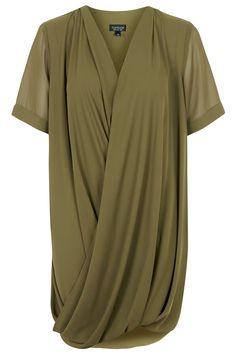 Photo 1 of Draped Front Tunic Dress