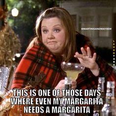 My margarita needs a margarita