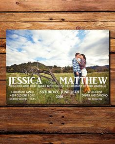 41 Photo Wedding Invitations Online You Would Like to Consider! Wedding Invitations With Pictures, Wedding Invitations Online, Wedding Stationery, Wedding Planner, Wedding Photos, Wedding Cards, Our Wedding, Dream Wedding, Wedding Suite