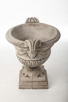 Discount Garden Statues - Pair of Large Oval Stone Cast Urn Vases, £225.00 (http://www.discountgardenstatues.co.uk/pair-of-large-oval-stone-cast-urn-vases/)