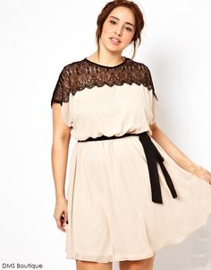 vestido festa plus size