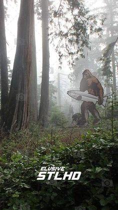 STLHD Bigfoot Smartphone Wallpapers - 10