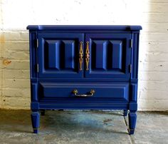 Exceptional Inside Blue Side Table   Love Design   Would Paint It A Different Color  Though.
