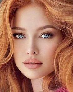 Red Hair Woman, Woman Face, Blonde Beauty, Hair Beauty, Pretty Redhead, Sacred Feminine, Stunning Eyes, Beauty Women, Beauty Girls