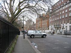 Lincoln's Inn Fields, Holborn, London. Street outside Grimmauld Place.