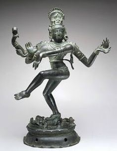 """""""Nataraja (literally meaning """"The Lord of Dance"""") is a depiction of the Hindu god Shiva as the cosmic dancer who performs his divine dance to destroy a weary universe and make preparations for god Brahma to start the process of creation."""""""