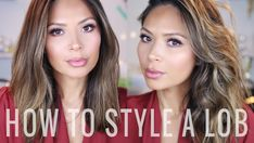 How To Style a Lob + VIDEO - Life With Me by Marianna Hewitt color