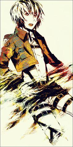 Armin Arlert, Attack on Titan / Shingeki no Kyojin artwork by Christa Renz.