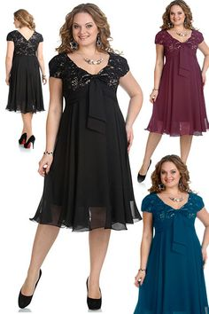 what gorgeous dresses i want them Funky Dresses, Casual Dresses, Short Dresses, Formal Dresses, Plus Size Cocktail Dresses, Plus Size Gowns, Frock Fashion, Fashion Dresses, Curvy Girl Fashion