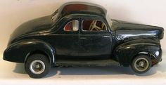 1940 Ford coupe 1/24 scale slot car, complete with full interior!