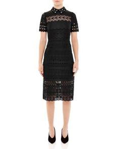 Sandro Radiance Lace Dress | bloomingdales.com