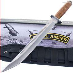 Colt Jungle Jumper Paratrooper Tactical Combat/Survival Knife MOLLE Sheath