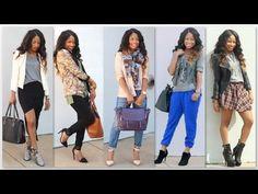 FALL FASHION TRENDS 2013   Lookbook - YouTube