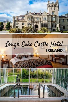 The Solis Lough Eske Castle Hotel in Donegal, Ireland, is one of the world's top luxury hotels and is a perfect romantic getaway.