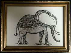 """Elephant"" for my sister, Waldi."