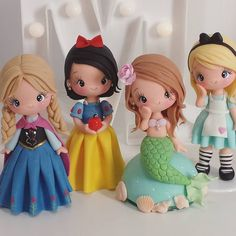#princesas #festaprincesas #festa1ano #boloprincesas #topoprincesa #festamenina