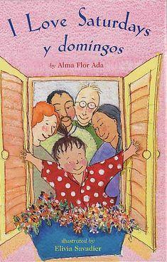 oEste cuento es de una nina que los fin de semanas pasa el Sabado con sus abuelitos que son descendiente de Europa y los Domingos con sus abuelitos de México.  Los abuelitos de ella vienen de diferentes tradiciones pero le tienen tanto cariño a su nieta.