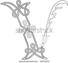 V - Celtic Knot