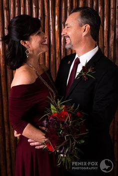 Multiway Convertible Dress: Burgundy Wine Iris by Style With Kari with Henkaa Tie: Burgundy Wine Tie by Style With Kari with Henkaa Bouquet and Bout: A Floral Note Photography: Fenix.Fox Location: JW Marriott Tucson Starr Pass Resort & Spa