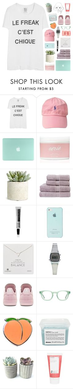 """""""Ysabel"""" by julyuhnah ❤ liked on Polyvore featuring Zoe Karssen, Aerie, Allstate Floral, Christy, Aesop, Dogeared, Topshop, adidas, Aframes and PINTRILL"""