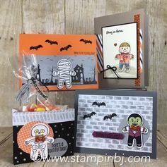 Cookie cutter halloween, Stampin' Up!, BJ Peters, #cookiecutterhalloween…